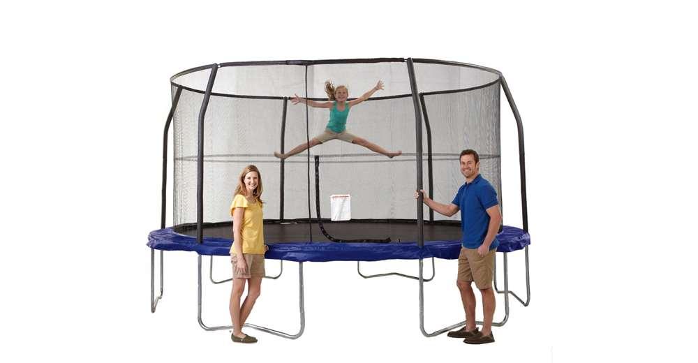 veiligheids net trampoline